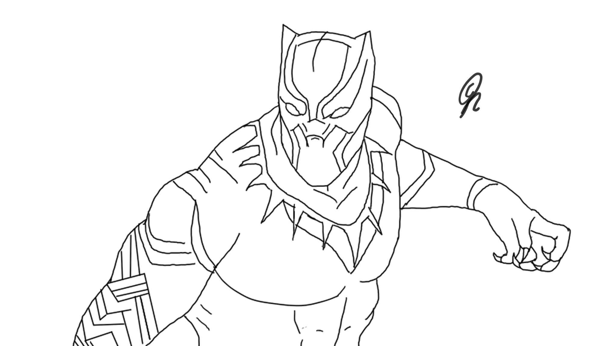 drawing of a black panther black panther by gs drawings on newgrounds black of panther drawing a