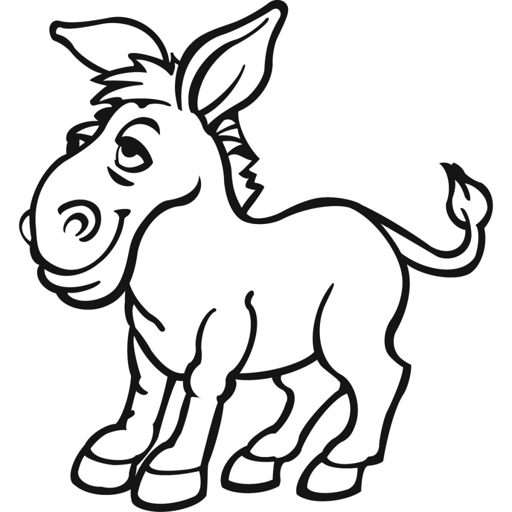 drawing of a donkey donkey line drawing free download on clipartmag donkey of a drawing