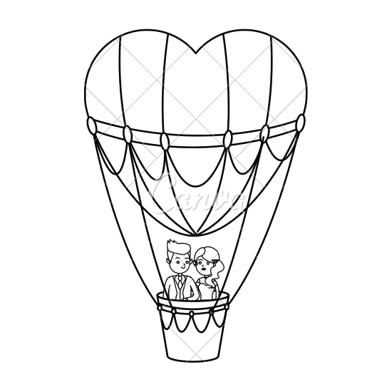 drawing of a hot air balloon air balloon drawing free download on clipartmag air of a hot drawing balloon