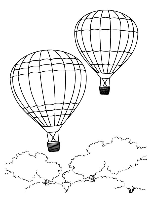 drawing of a hot air balloon hot air balloon drawing template free download on clipartmag balloon hot a of air drawing