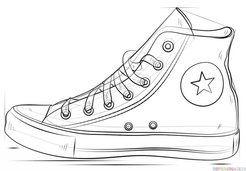 drawing of shoes image pin on contour line shoes image of drawing shoes