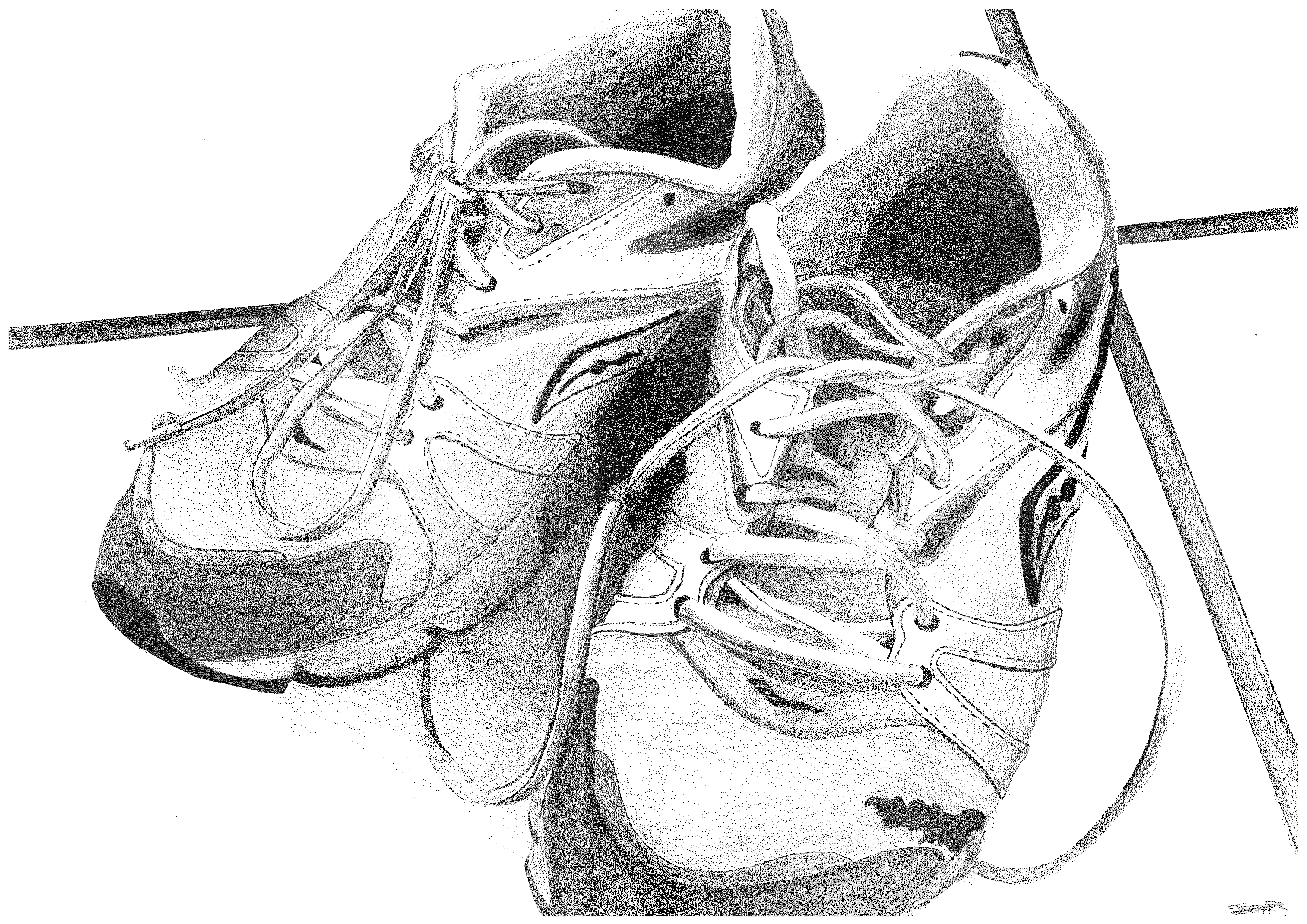 drawing of shoes image running shoes drawing free download on clipartmag of shoes image drawing