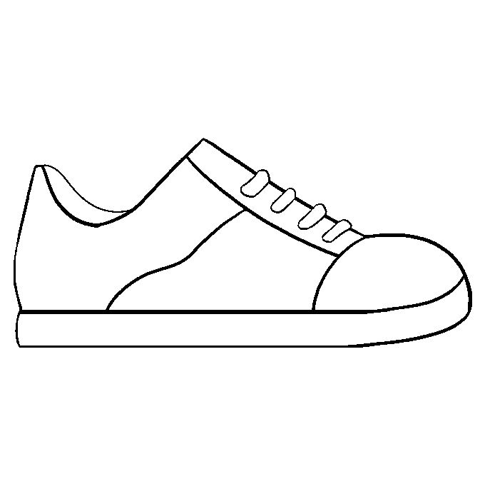 drawing of shoes image shoe drawing for kids at getdrawings free download shoes of drawing image