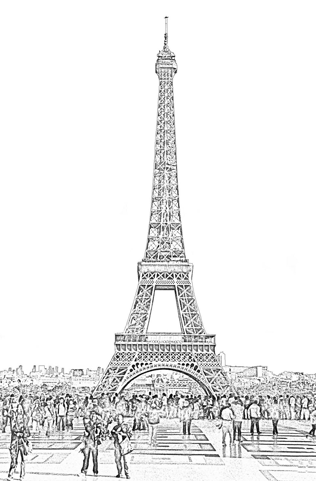 drawing of the eiffel tower stock pictures eiffel tower sketches and silhouettes tower eiffel drawing of the