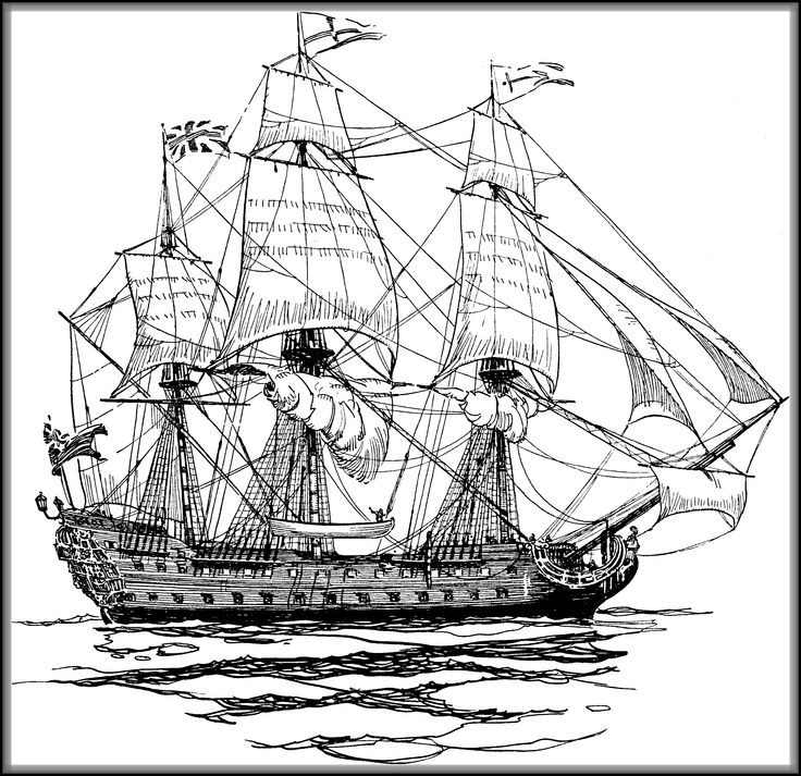 drawing pirate ship british ship of the line drawing pirate ship drawing ship drawing pirate