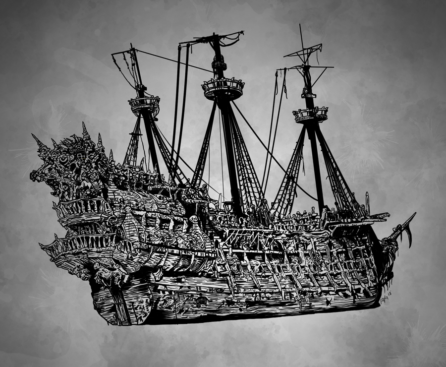 drawing pirate ship hand drawn pirate ship by carbonism on deviantart pirate drawing ship