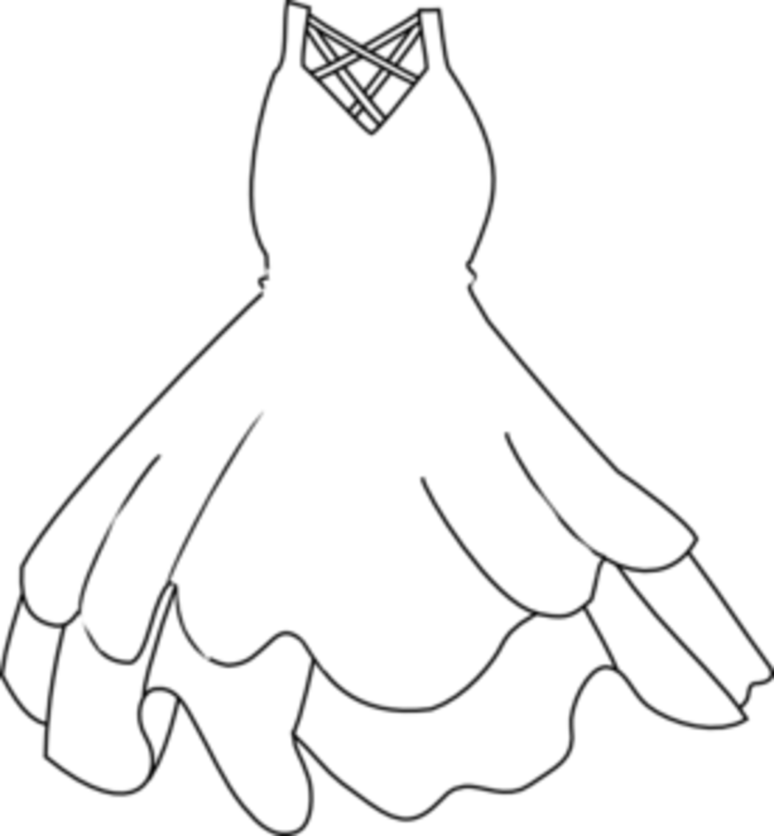dress coloring pictures beautiful dress coloring pages and pictures for adults and pictures dress coloring