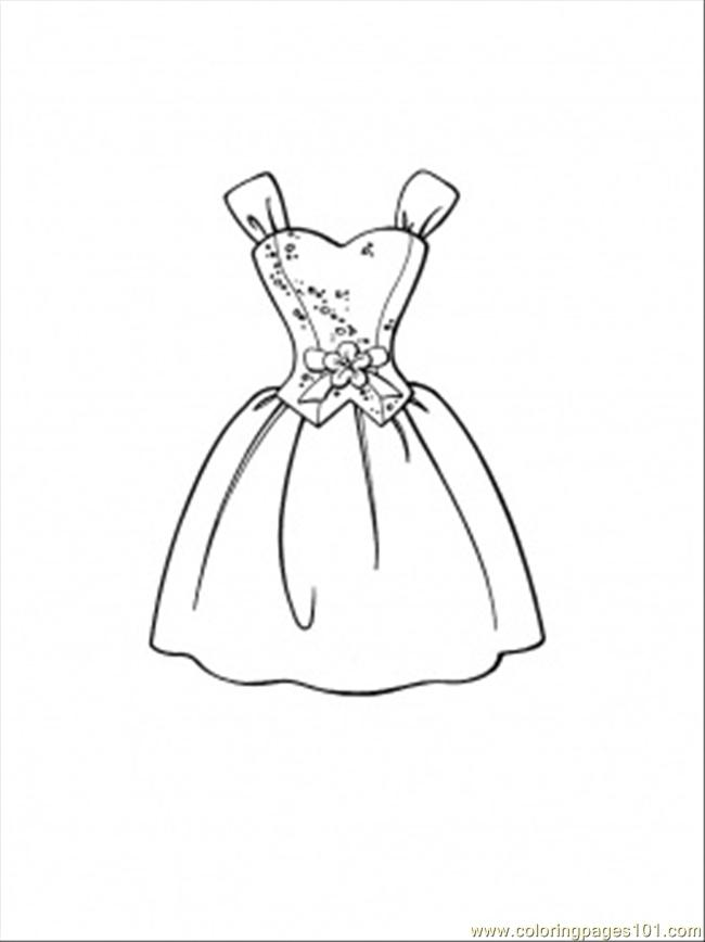 dress coloring pictures princess in ball gown off the shoulder dress coloring page coloring dress pictures
