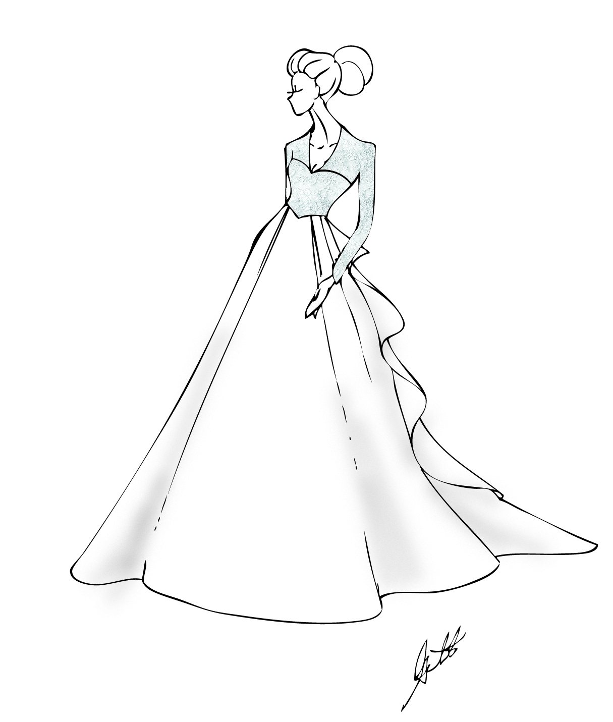 dress for coloring doll dress coloring pages printable coloring for dress