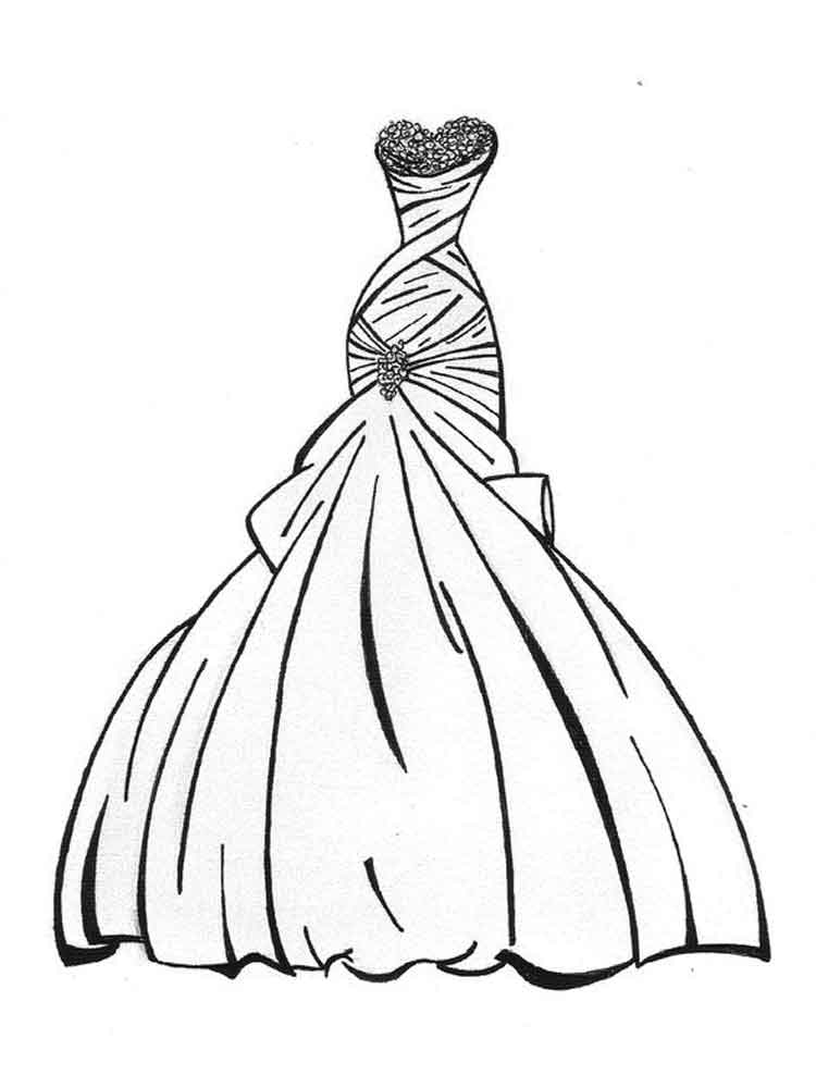 dress for coloring dress coloring pages free printable dress coloring pages coloring dress for