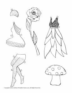 dress up paper doll fairy dress up paper dolls printable games doll up dress paper