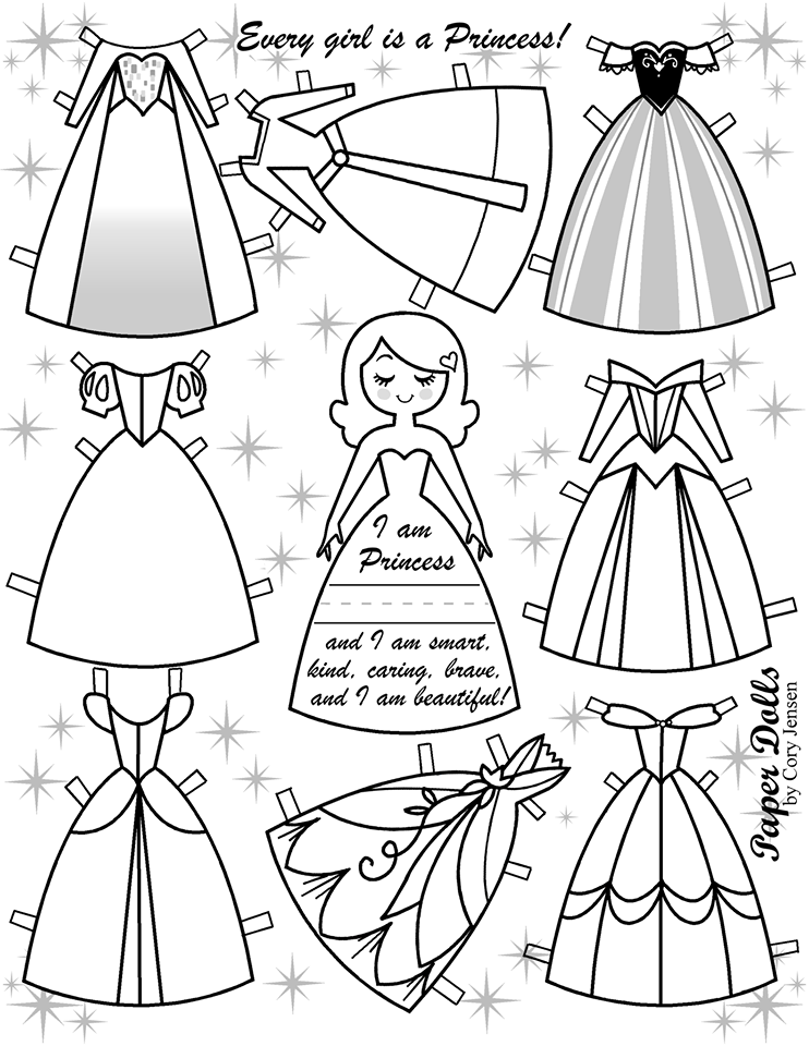 dress up paper doll for your princessesfree disney inspired paper dolls paper doll up dress