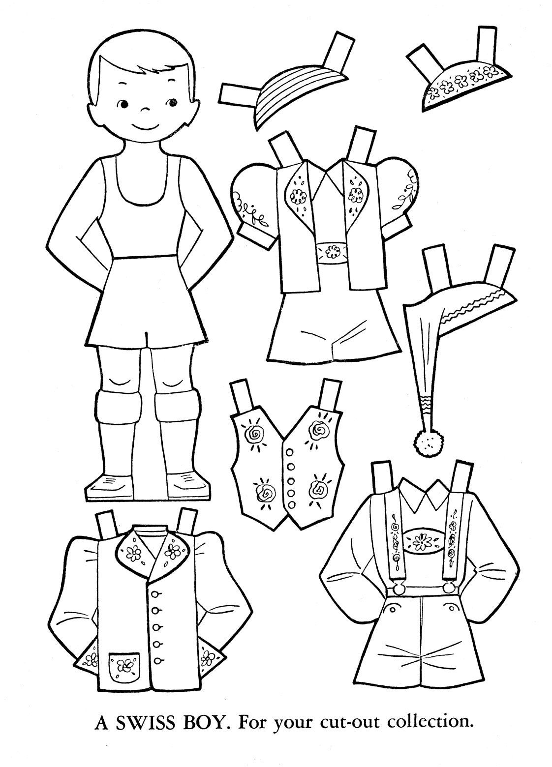dress up paper doll outlines of dress up dolls different colountries paper dress paper doll up