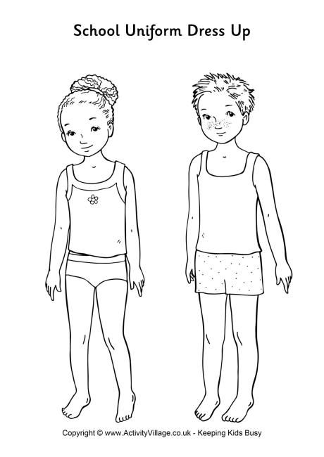 dress up paper doll school uniform paper dolls use for dressing up with up dress paper doll