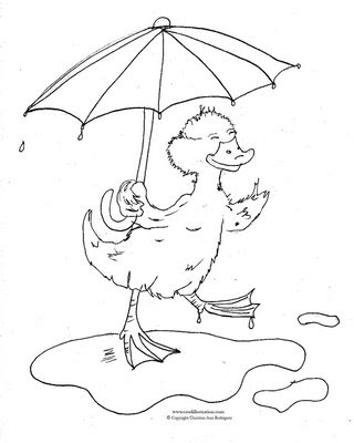 duck with umbrella coloring page beautiful cute daisy duck coloring colour drawing69244 umbrella page with duck coloring