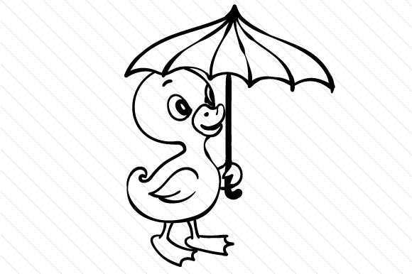 duck with umbrella coloring page boy holding umbrella coloring page coloring home coloring duck page with umbrella