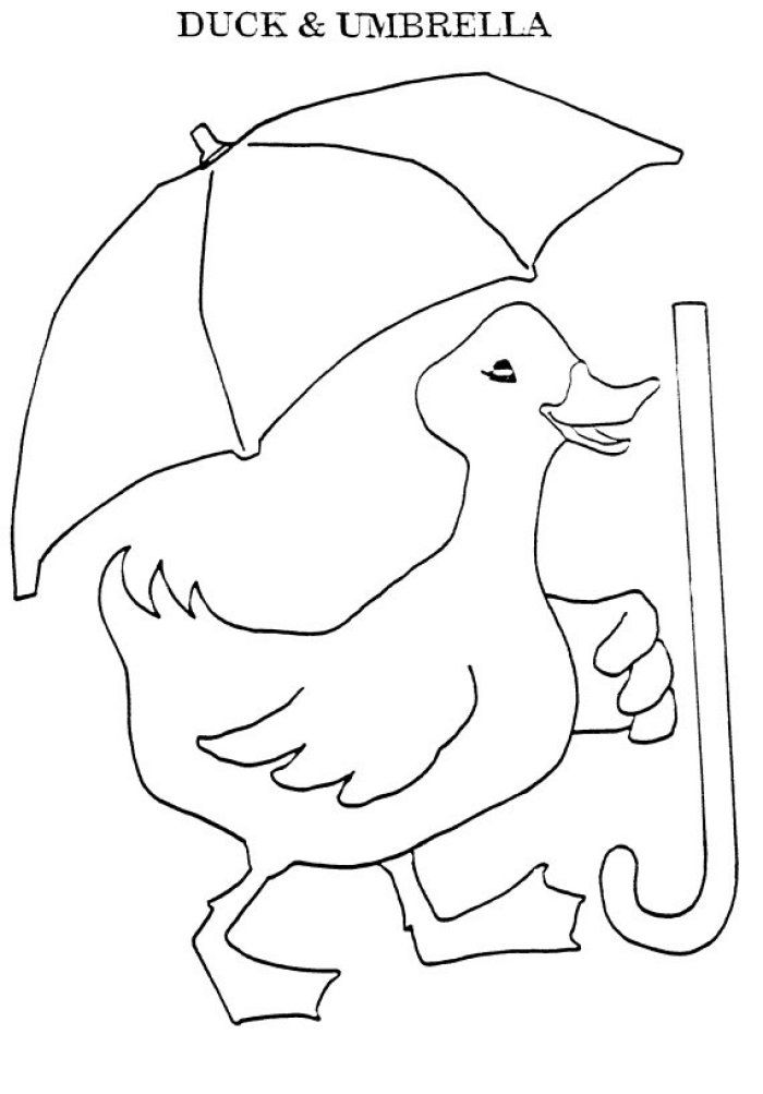 duck with umbrella coloring page coloring pages puddle duck with umbrella coloring page umbrella page duck coloring with