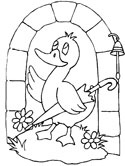 duck with umbrella coloring page preschool coloring pages of ducks with umbrellas umbrella page duck coloring with