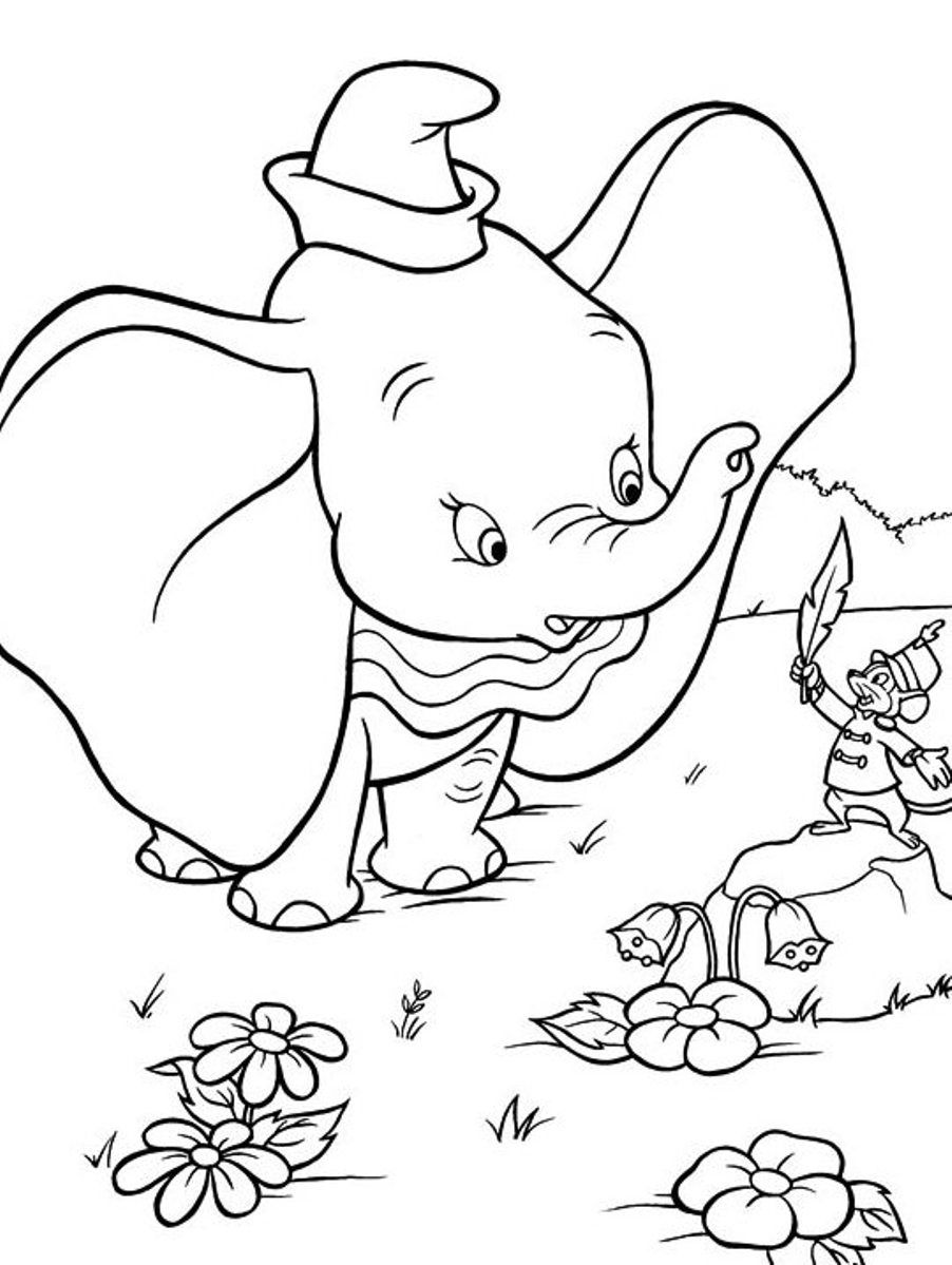 dumbo coloring pages disney coloring pages pages coloring dumbo
