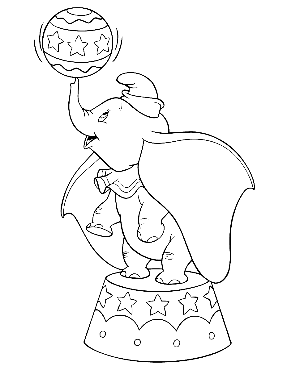 dumbo coloring pages free walt disney animal dumbo elephant coloring pages dumbo coloring pages