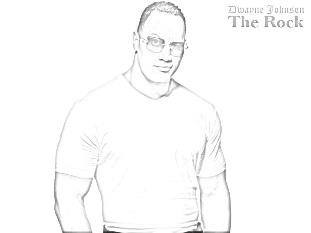 dwayne the rock johnson coloring pages coloring pages wonderful wwe coloring pages picture id coloring johnson the pages dwayne rock