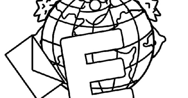 e is for earth coloring page Безплатни страници за оцветяване на Деня на Земята Идеи coloring e is for earth page