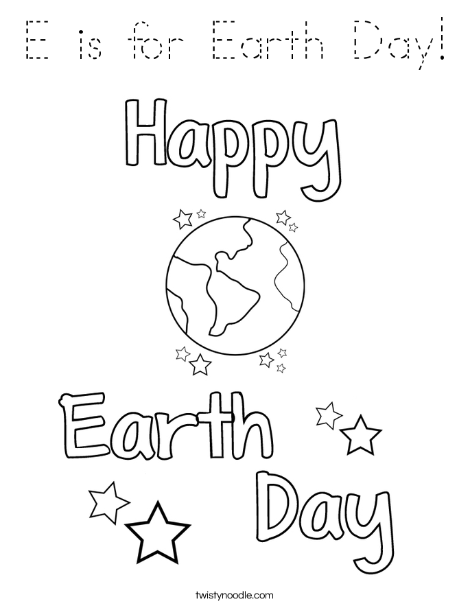 e is for earth coloring page e is for easter mommy school packet e page is for earth coloring
