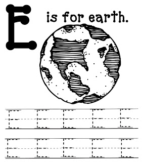 e is for earth coloring page earth day preschool on pinterest earth day earth day for earth is e page coloring