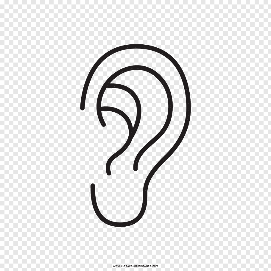 ear coloring ears coloring pages coloring home coloring ear