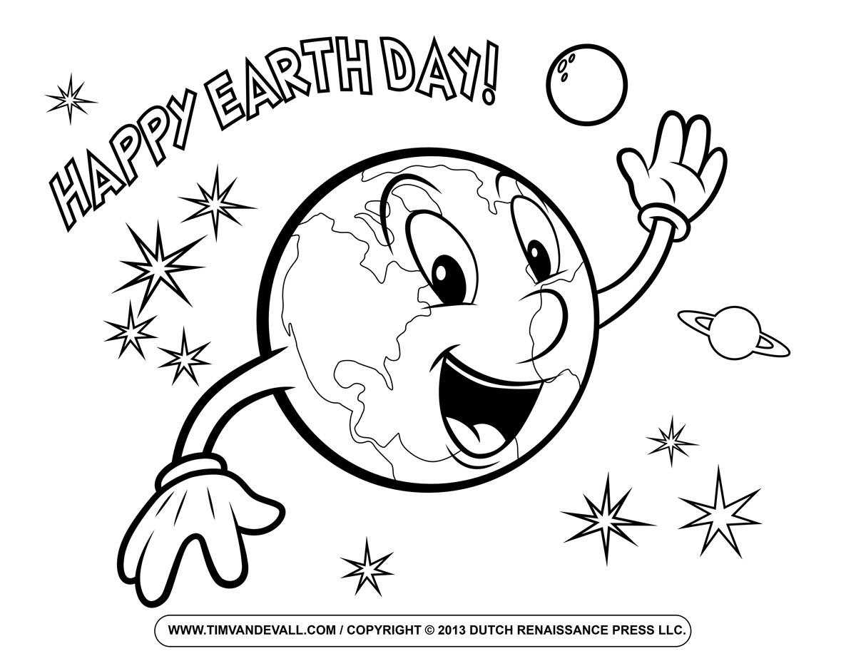 earth day coloring pages earth day kids crafts coloring pages happiness is homemade pages earth day coloring
