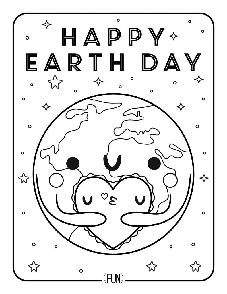 earth day coloring pictures 21 printable earth day coloring pages holiday vault day earth pictures coloring
