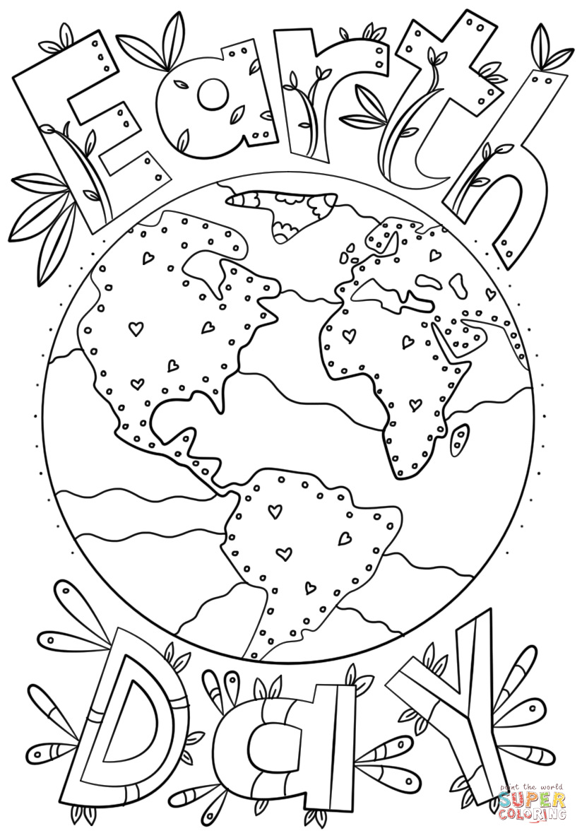 earth day coloring pictures earth day kids crafts coloring pages happiness is homemade earth coloring day pictures