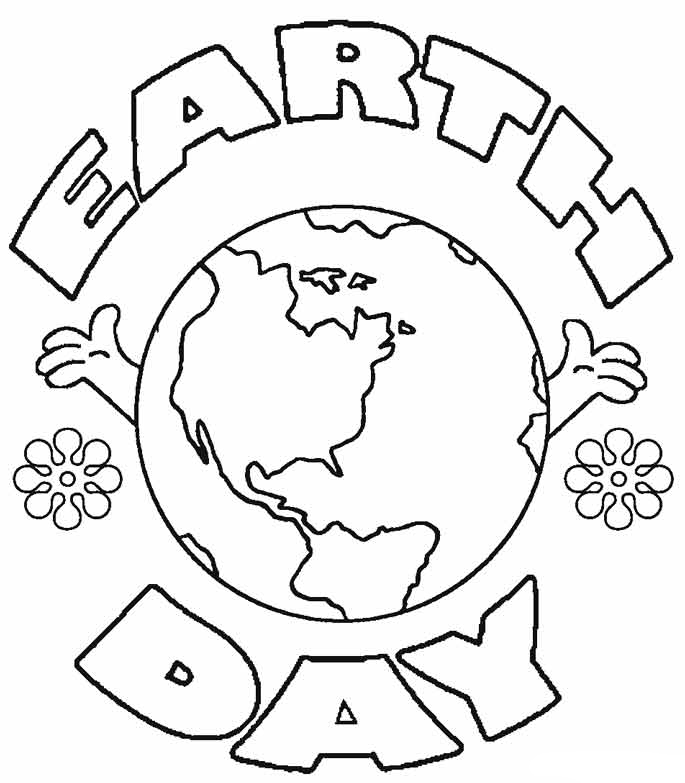 earth day coloring pictures free printable coloring page earth day cratekids blog pictures coloring earth day