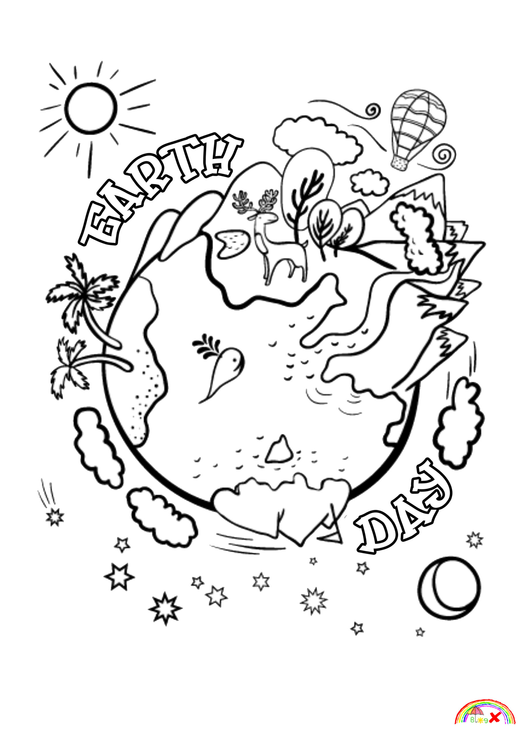 earth day coloring pictures happy earth day coloring pages free download and print day pictures earth coloring
