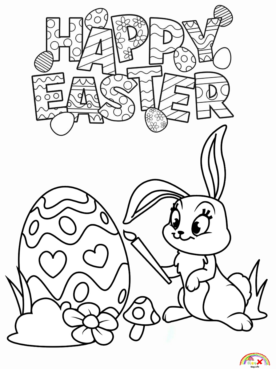 easter bunny coloring pictures easter bunny coloring pages kidsuki coloring easter pictures bunny