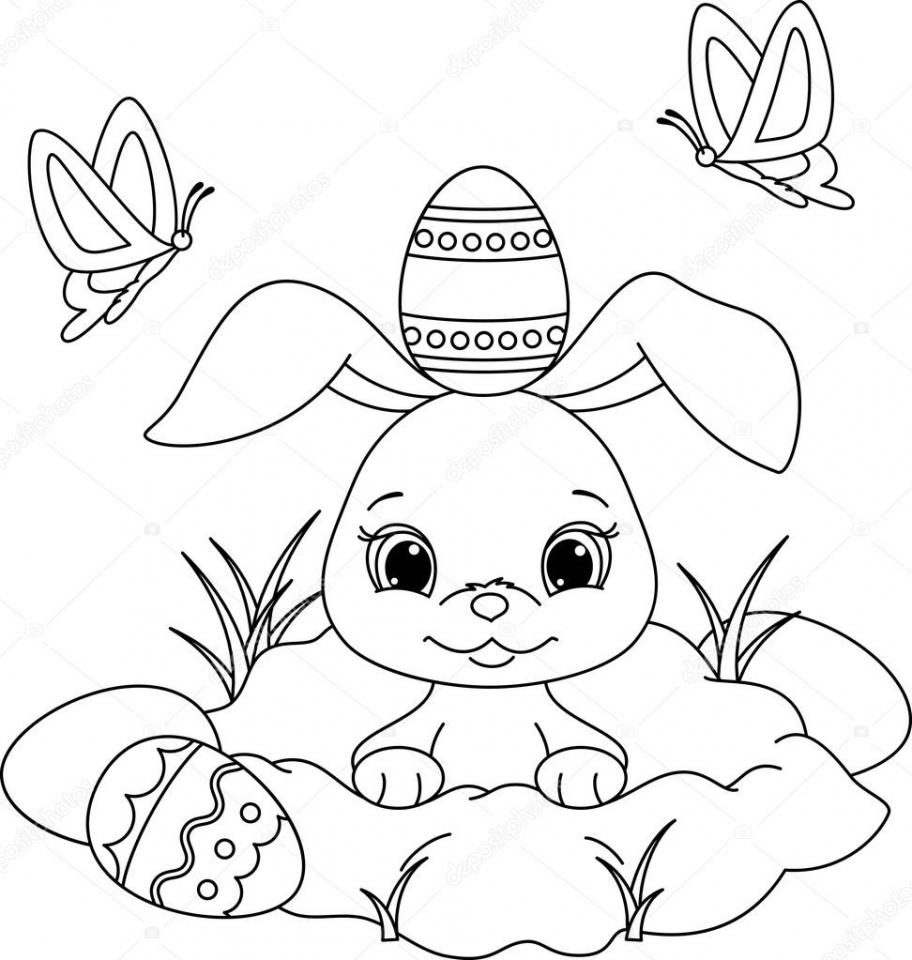 easter bunny coloring pictures easter color sheet easter coloring sheets spring easter pictures coloring bunny