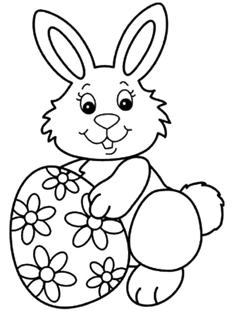 easter bunny coloring pictures free printable easter bunny coloring page favecraftscom coloring bunny easter pictures