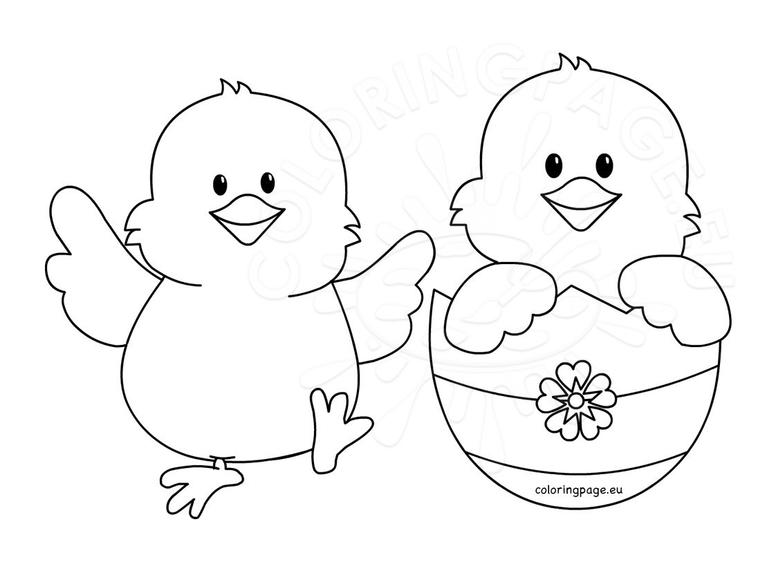 easter chick colouring baby chick coloring page unique 33 chick coloring pages easter chick colouring