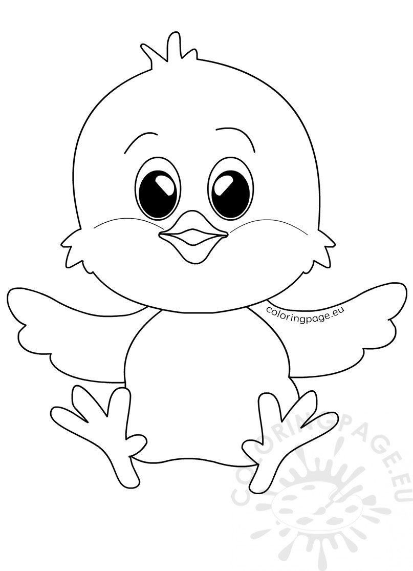 easter chick colouring chick coloring page best coloring pages for kids chick colouring easter