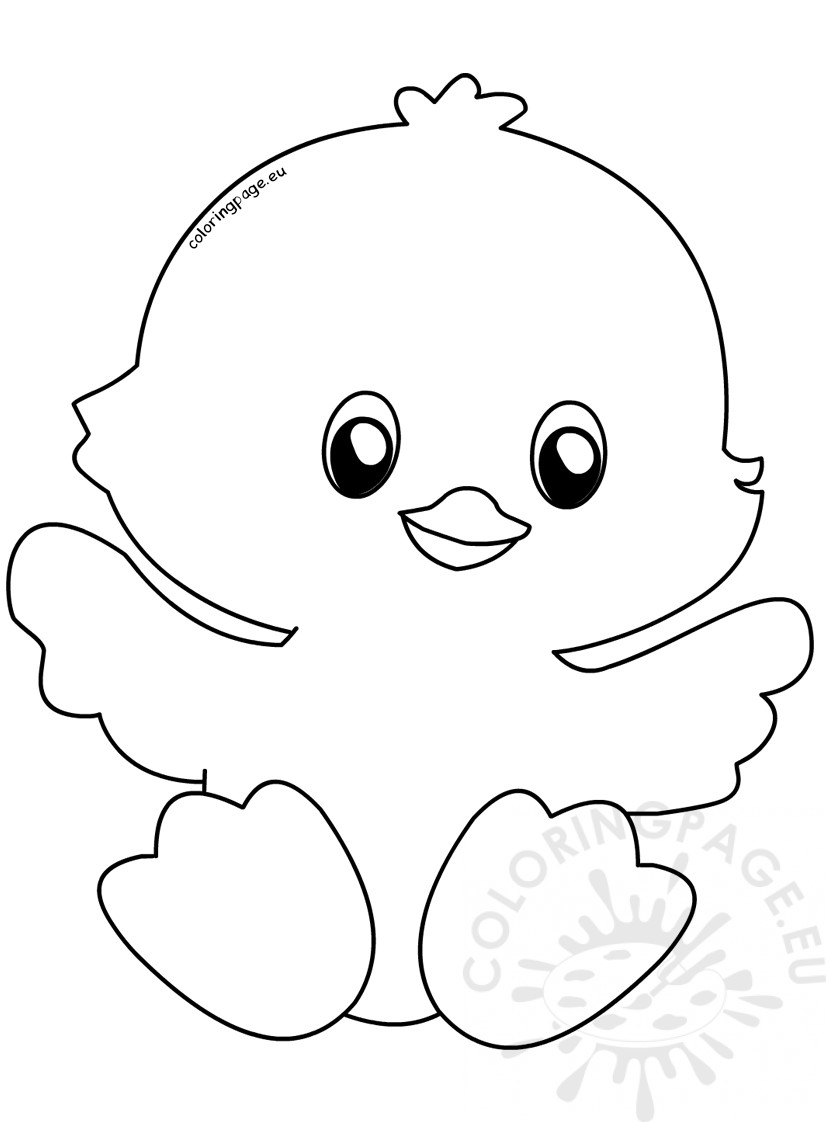 easter chick colouring easter chick coloring pages new baby chick easter colouring easter chick