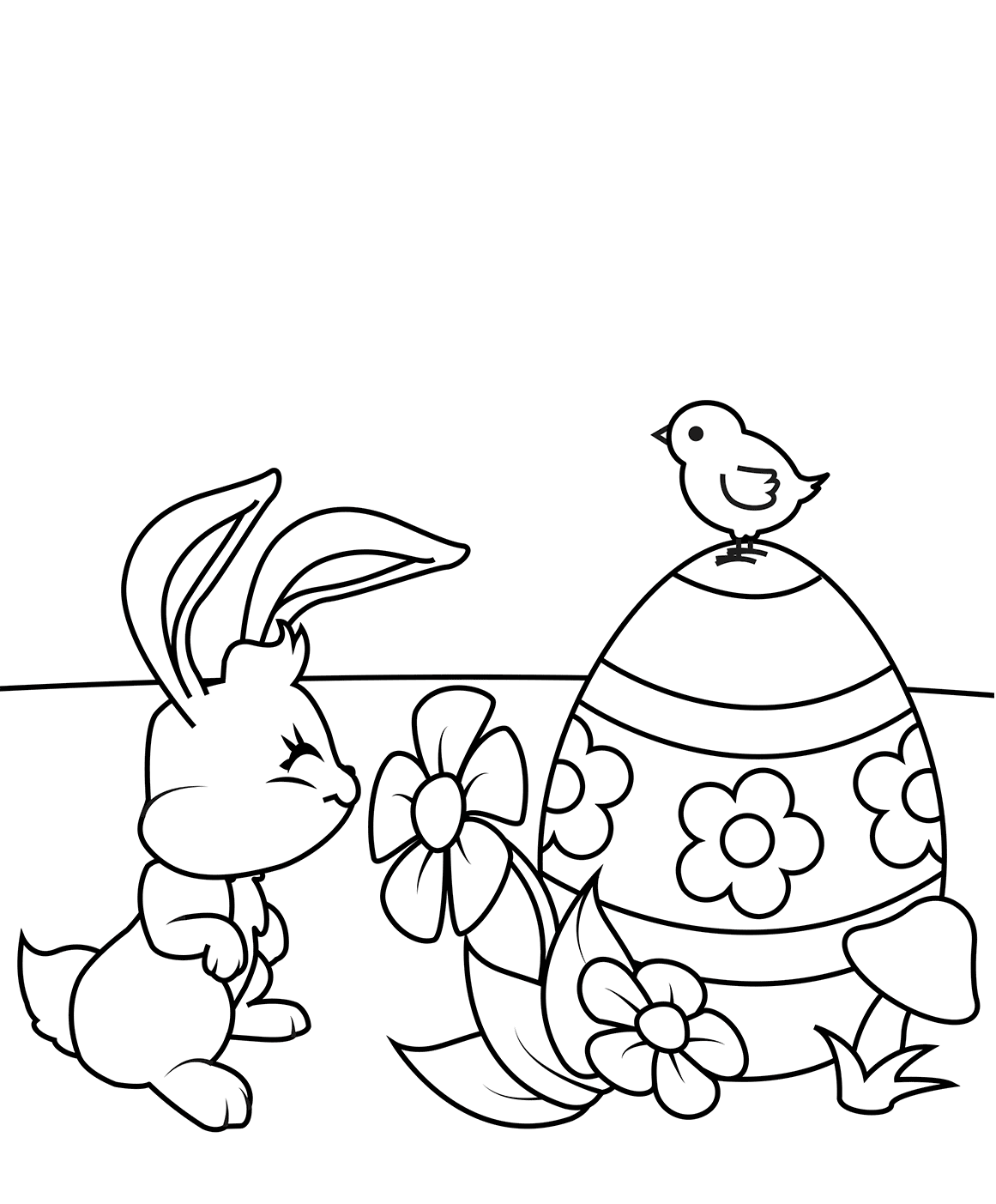 easter chick colouring happy easter chicks cartoon coloring page chick colouring easter