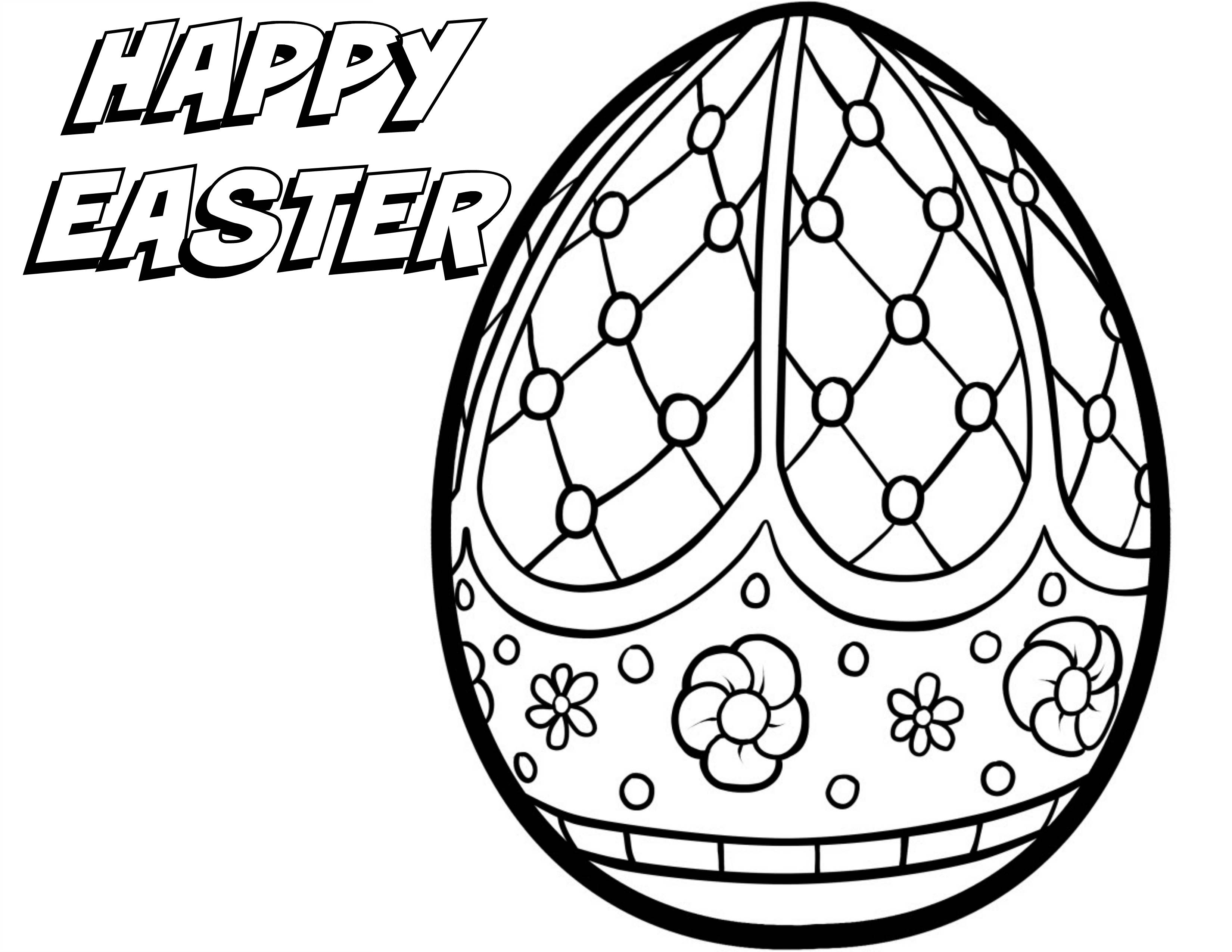 easter color pages 5 free printable easter coloring pages for adults that easter color pages