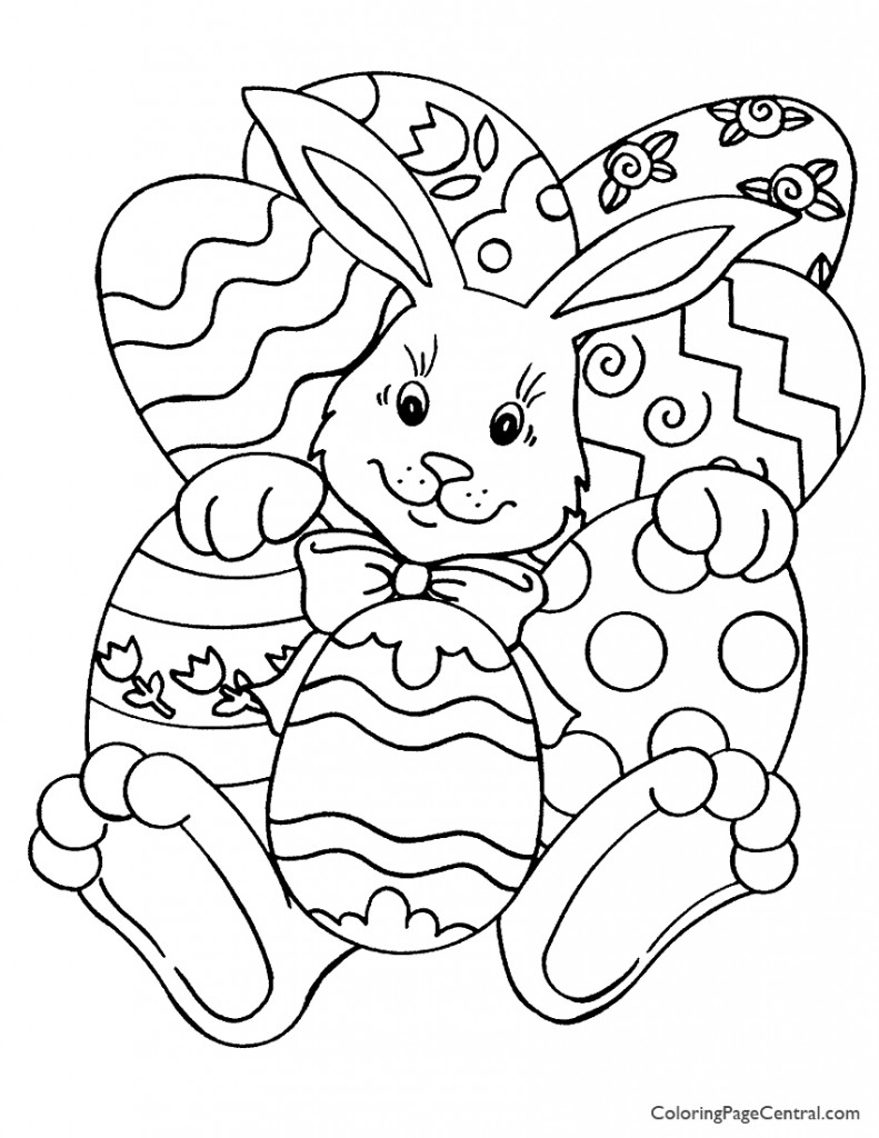 easter coloring pages printable easter 01 coloring page coloring page central easter coloring printable pages