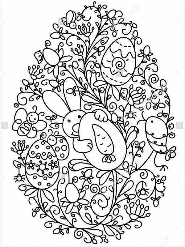 easter egg template large easter egg patterns coloring page easter egg template