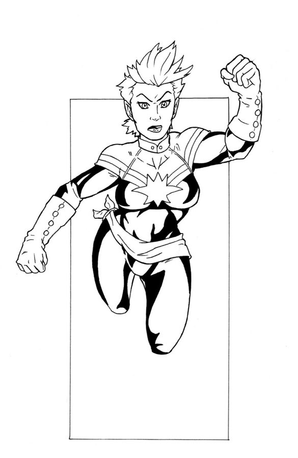 easy captain marvel coloring pages captain marvel color page superhero coloring pages marvel easy captain pages coloring