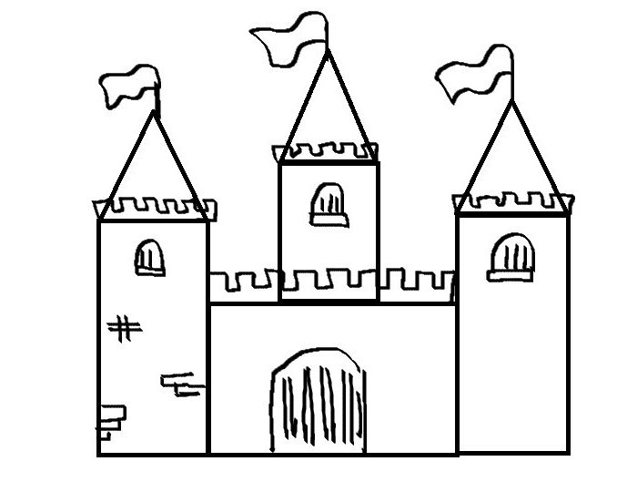 easy castle drawing castle drawing easy free download on clipartmag drawing castle easy