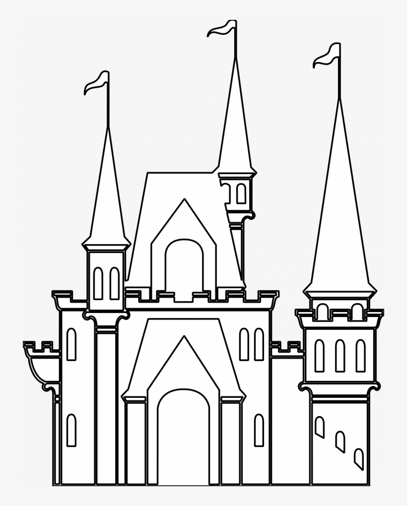 easy castle drawing simple castle drawing at paintingvalleycom explore easy drawing castle
