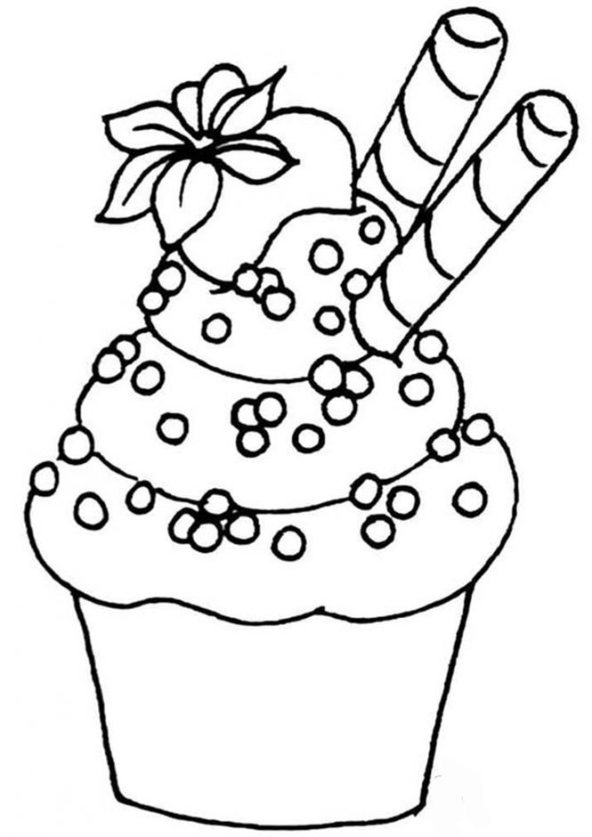 easy cupcake coloring pages cupcakes with heart coloring pages with images heart pages coloring cupcake easy