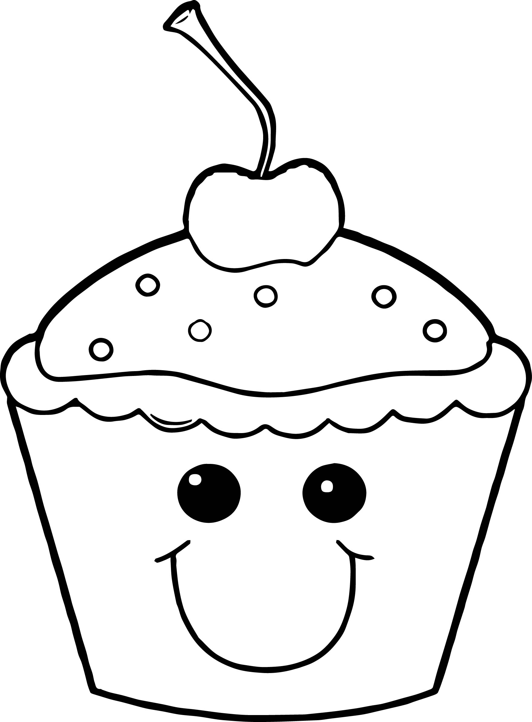 easy cupcake coloring pages free printable cupcake coloring pages for kids cool2bkids coloring easy cupcake pages