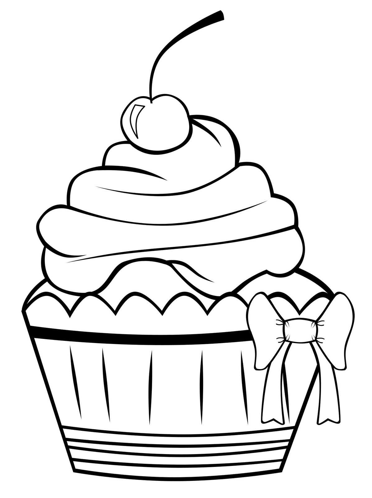 easy cupcake coloring pages print coloring image momjunction cupcake coloring easy cupcake coloring pages